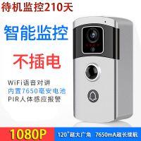 新款无线网络监控摄像头家用wifi手机远程室内室外高清夜视门铃