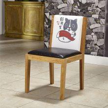 广州日式面馆实木椅子订做,实木餐椅定制流程