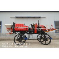 农田自走式打药机 农用四轮高杆喷雾器