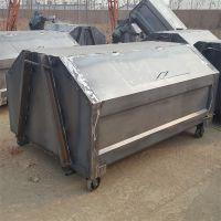 厂家定制可定制垃圾箱3-10立方户外垃圾箱,收集箱,中转箱