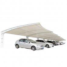 苏州新云 定制加工雨棚钢结构、Q235B钢结构车棚、停车棚厂家