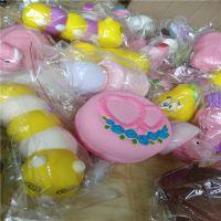 PU圆形蛋糕 慢回弹心形马卡龙 仿真玩具动物 厂家定制