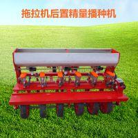 富兴免间苗蔬菜精播机 桔梗播种机 拖拉机带藜麦播种机型号