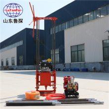 工程取样回转式钻机QZ-2B汽油机钻探机山东鲁探出品
