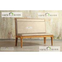 韩尔品牌 供应上海家具厂定制餐桌椅 实木餐桌椅 工厂定制餐饮店桌椅
