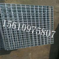 钢格板厂家 迅鹰镀锌方格板 山东化工厂踩踏板