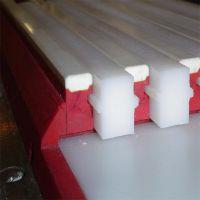 供应链条导轨 单排链条导条 双排链条导轨 食品机械保护条