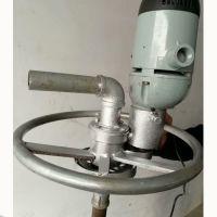 小型打井机价格 手持式打井机 手电钻钻井机