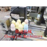 供应 CJ-100S 葫芦形粉扑磨边机 程进机械