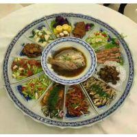 海鲜大咖超大一米陶瓷圆碟的定制价格