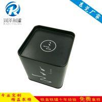 正方形铁盒厂家直销马口铁茶叶罐可定制LOGO批发铁盒