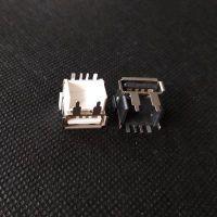 大电流5A/华为原装USB2.0母座 短体USB加高快充AF 垫高11.45mm