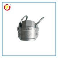 厂家生产直营不锈钢金属软管快接 卡套式波纹管快速接头内螺纹D型