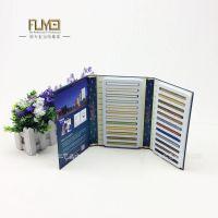 美缝剂色卡本定做海绵内衬设计画册木地板样板册瓷片色卡样品册可定制FY-018