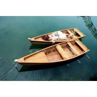 玉海木船YH-OS-016 厂家直销欧式手划船 婚纱摄影船 景观装饰船 休闲观光船 垂钓船