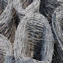 围墙铁蒺藜 双丝拧编刺线 带刺铁线