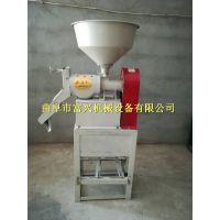 黑龙江玉米去皮碾米机 富兴谷子水稻脱壳碾米机 家用荞麦去皮机厂家价格