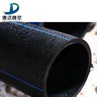 农用大田喷灌排水管 黑色hdpe灌溉管全新给水管 厂家定做