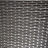 长圆孔图案冲孔网板加工定制不锈钢镀锌铁铝洞洞板冲孔网供应商筛网过滤网