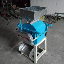 高粱专用对辊轧碎机 商用型电动破碎机 宏瑞破碎设备