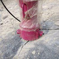 河南驻马店大型劈裂机厂家岩石分裂机破碎矿山岩石专用设备