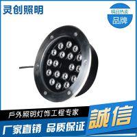 云南邵通色泽光润LED地埋灯生产厂家哪家好选择灵创照明