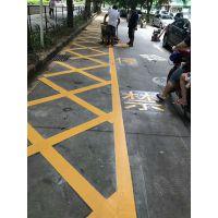 承接道路划线 各种停车场设施标线工程 广州车站车位画线技巧