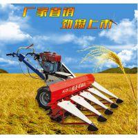 苜蓿草快速收割机 体积小速度快水稻辣椒收割机批发