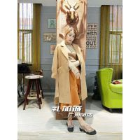 品牌女装折扣店17新款阿尔巴卡大衣 一手货源