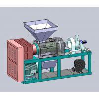编织袋 薄膜挤干机 PE薄膜挤干塑化切粒机