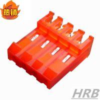 红色刺破式连接器 3.96MM间距 替代TE 640599系列 国产HRB品牌