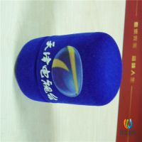 植绒logo麦克风海绵话筒套 防风海绵罩