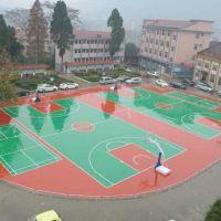 深圳复合型塑胶跑道运动场地施工 材料生产