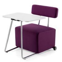 高档休闲沙发学习椅 布艺会客接待椅 众晟会议记录沙发椅