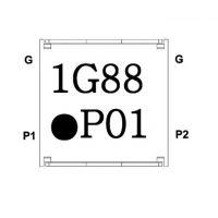 IL07BL1880AAE IL07BR1880AAE 贴片隔离器 partron 1880MHz