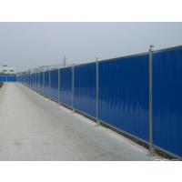 广州壹路通施工围挡 彩钢瓦围蔽 彩钢夹芯板围挡厂家
