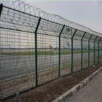 厂区绿色隔离网围栏 小区围墙护栏网 浸塑框架护栏网 耐腐蚀 抗老化