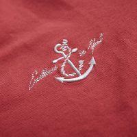深圳印衫皇衣服刺绣,T恤绣花,衣服绣LOGO,图案清晰