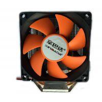 辛巴达品牌冰峰多平台电脑铜铝一CPU风扇件代发静音通用型热管散热器