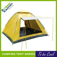 旷野户外帐篷双人野外露营防雨帐篷