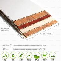 河北竹木纤维集成墙板木塑板木纹板1802