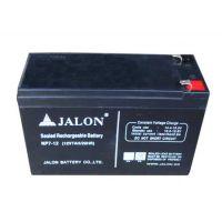 捷隆JALON蓄电池12V-65AH 江苏总代理现货报价