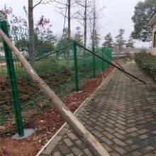 厂区道路护栏 PVC围墙护栏 球场围网安装