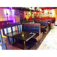 广州天河北欧风格各种餐厅桌椅 家具 卡座沙发专业定制