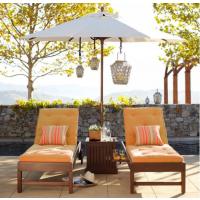 厂家直销缅甸柚木茶几组合沙滩椅/厂家定制定做