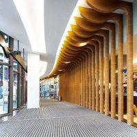 木纹弧形铝方通厂家价格