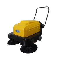 彩色路面清扫多余石子电动扫地机,依晨手推式工业扫地机YZ-10100
