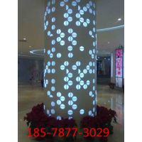 西安木纹包柱铝单板定制价格