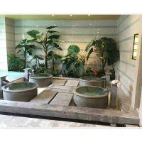 找景德镇可以定做1.1米直径浴场泡澡大缸 日式1.2米极乐汤陶瓷洗浴大缸