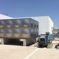 供应昆山不锈钢组合水箱 定制容量 25吨小区生活用水配套设备